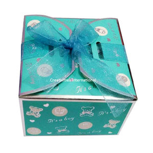 Butterfly desgin Green Box
