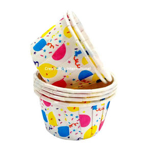 Balloon design cup cake liner (small) - Ready To Bake