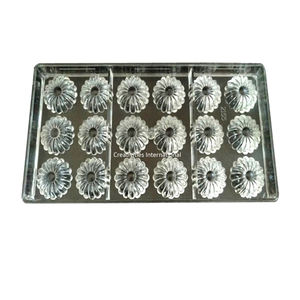 Small Sunflower Polycarbonate Chocolate Mold