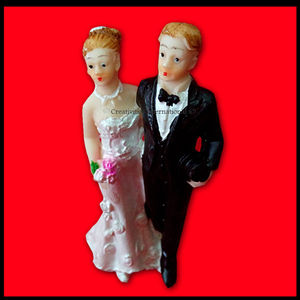 Wedding Couple Topper (Small) 3