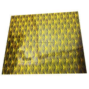Yellow Swirl Design sheet