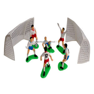 Football Team Cakes Toppers Set (6 Players)