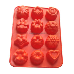 Multi Designs Flowers Silicone Chocolate Mould