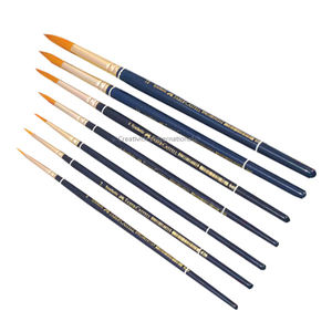 Professional Cake Faber Castells brush sets of 7 Round tips