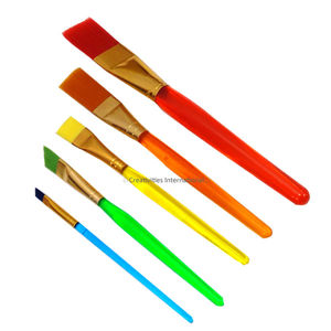 Professional Cakes Paint brushes set of 3 Flat and 2 Angled tip