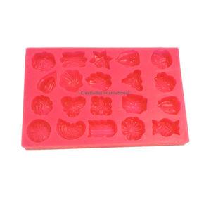 Silicone marzipan mould- Desginer gems