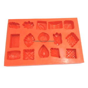 Silicone marzipan mould-all in 1 shape