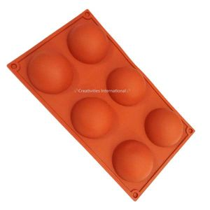 Silicone muffin ball shape mould