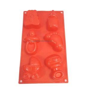 Baby Shower Silicone Muffin Mold