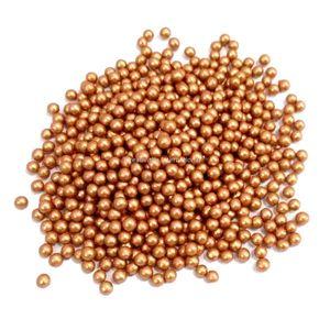 Brown Metallic Sugar Balls (4mm)