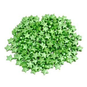 Star Metallic Green Sprinkles (1cm)