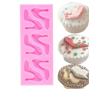 High Heels Shoes Silicone Fondant Mould