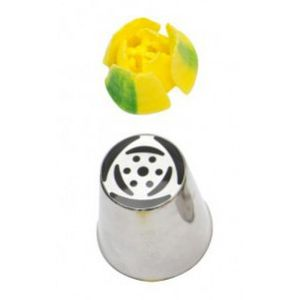 Simple flower russian nozzle (small)