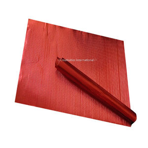 Red Lining Embossed Sheets