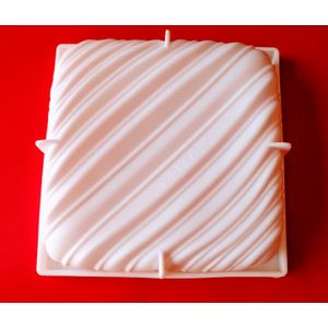 Entremet Silicone Mould- Designer Pillow Shape