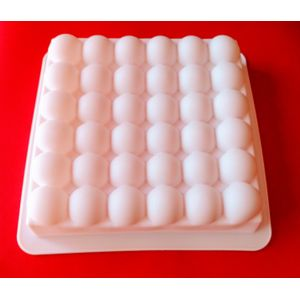 Bubble Square Entremet Silicone Mould