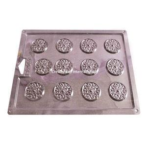RANGOLI DESIGN PVC THIN CHOCOLATE GARNISHING MAT