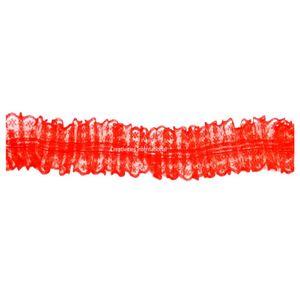 Red Frill Ribbon