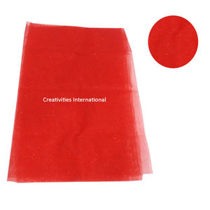 Red color tissue sheet