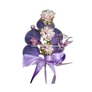 Purple Paper And Net Flower