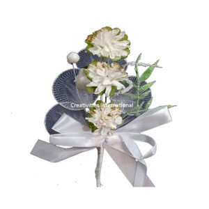 White Paper And Net Flower