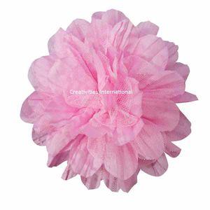Pink Satin Bow Flower