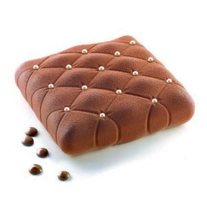 Quilted Pillow Silicone Entremet Mould