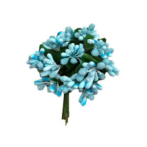 Sky Blue Mulberry flower Peps