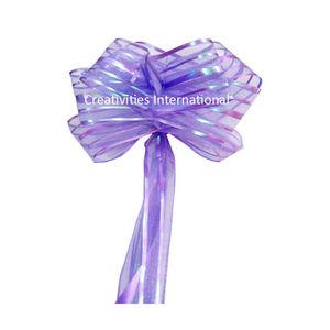 Blue Net Bow Big
