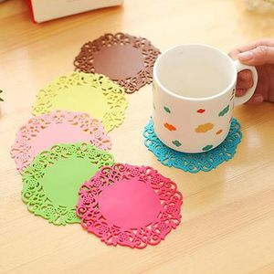 Silicone Lace Flower Doily Mat,Kitchen Accessories, Kitchen products, tea coster for table, Kitchen tools