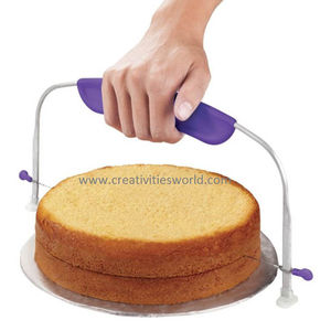 Cake Leveler With Silicone Grip