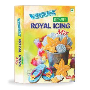 Bakerswhip Royal Icing Mix 100% Veg