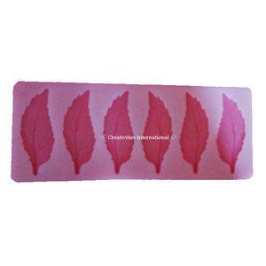 Rose Leaf Silicone Garnishing mat