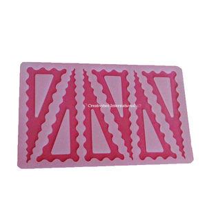 Designer Triangle Silicone Chocolate Garnishing mat