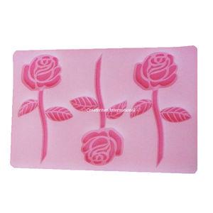 Standing Rose Chocolate garnishing mat