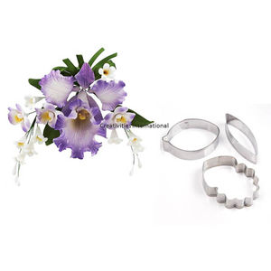 Cattleya Orchid Flower Cutter Set