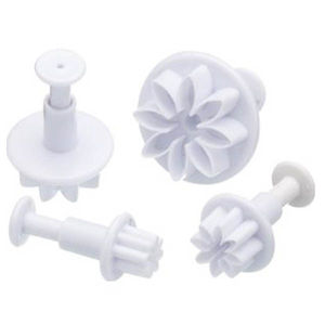 Daisy Flower Plunger Cutter (4 In 1)