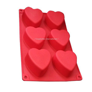 Heart Shape Cupcake Silicone Mold