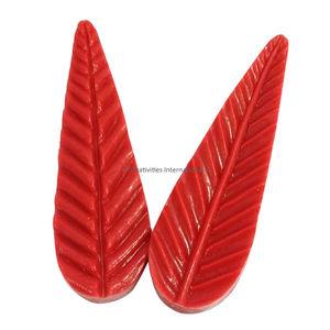 Silicone veiners  Leaf Shape  design 4
