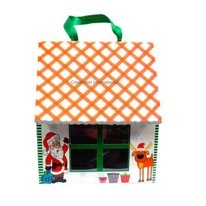 Christmas Santa Claus House Gift Big Box