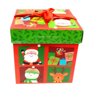 Christmas Santa Claus Gift Big  Box