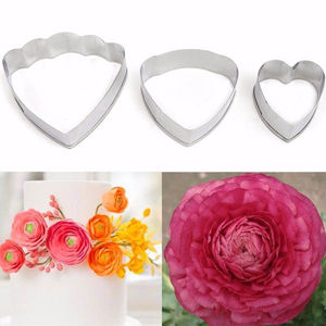 Ranunculus Flower Petal Cutter Set
