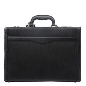 Da Milano Black Briefcase