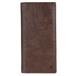 Da Milano Ca-0297 Brown Long Card Case