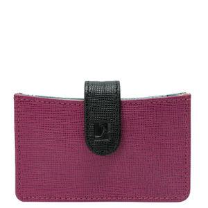 Da Milano Purple/Black Card Case