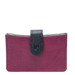 Da Milano Purple/Blue Card Case