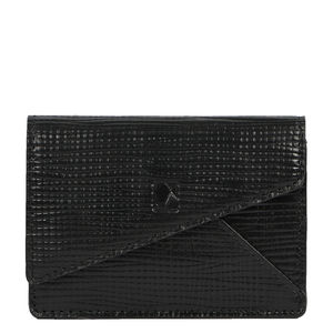 Da Milano Black Short Card Case