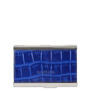 Da Milano Royal Blue Card Case