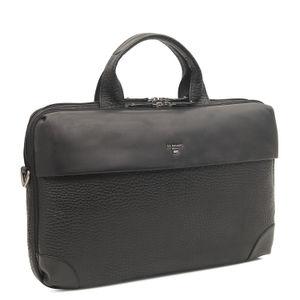 Da Milano Black Laptop Bag