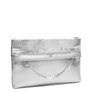 6d9a1cb16a Da Milano White   Silver Clutch · Da Milano White   Silver Clutch